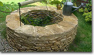 Cotswold Stone well